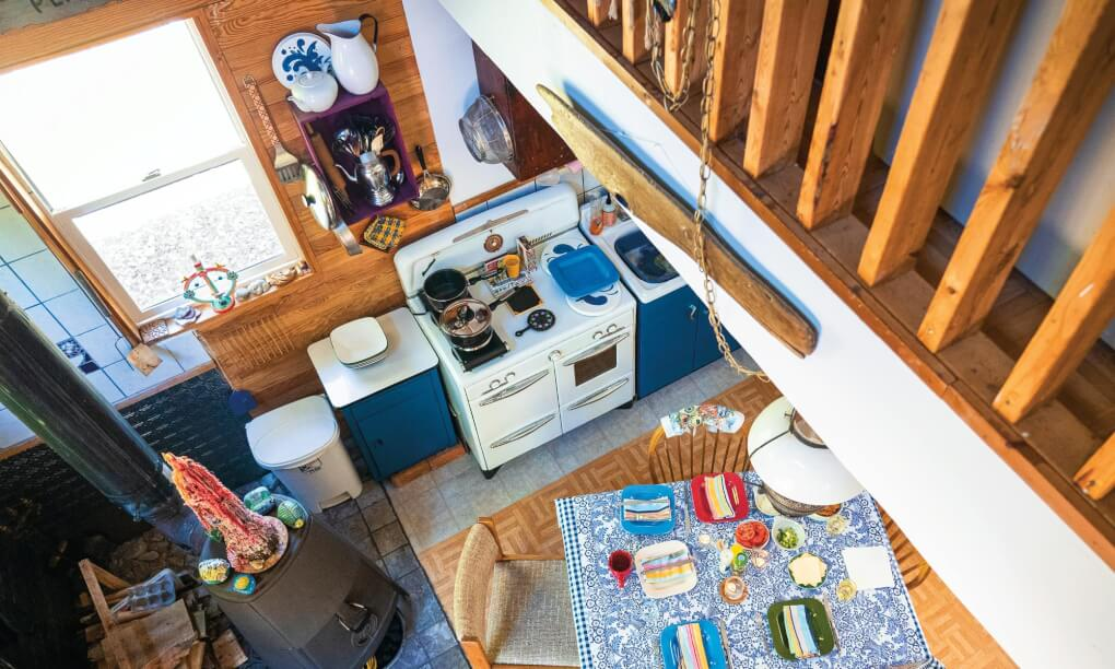 Bois Blanc Island Faculty Couple Builds Home In Isolated